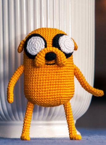 Amigurumi: Jake aus Adventure Time- Häkelanleitung via Makerist.de