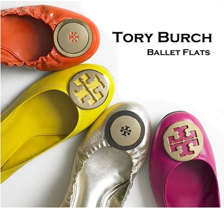 Cant go wrong with Tory Burch ballet flats.especially since Im 5 months  pregnant and need flatter work shoes