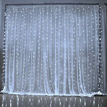 String Lights  Goalsun Curtain Lights 6   3M 600 LEDs  8 Modes  Linkable. 17 Best ideas about Icicle Lights Bedroom on Pinterest   White