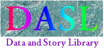 "DASL (pronounced ""dazzle"") is an online library of datafiles and stories that illustrate the use of basic statistics methods"