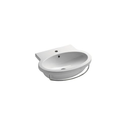 Ceramic Bathroom Sink   Decorative   Wall Mounted   GSI 663811  Decorative  WallsBathroom Faucets118 best Bathroom faucets  sinks  etc images on Pinterest  . Decorative Bathroom Faucets. Home Design Ideas