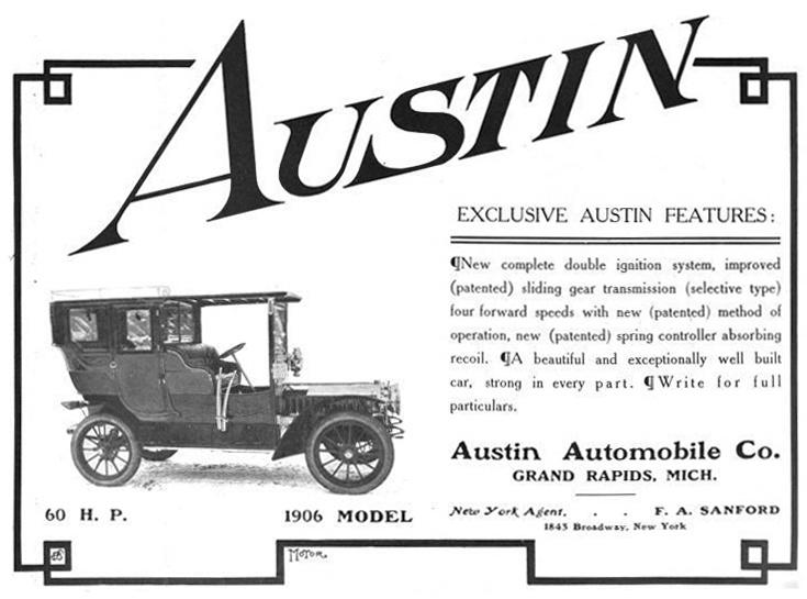 11 best austin automobile company images on pinterest for Grand rapids motor car