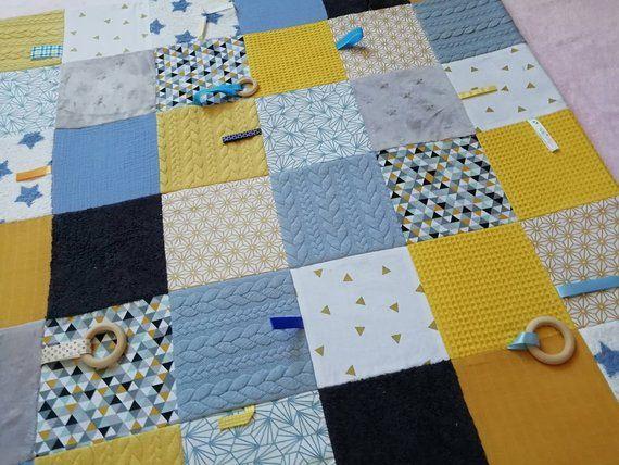 Personalized baby & child montessori sensory play mat
