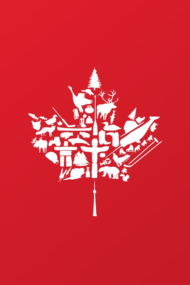 Gorgeous Canadian maple leaf artwork #PCCanadaDay