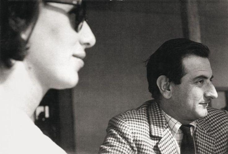 Giosetta Fioroni e Goffredo Parise