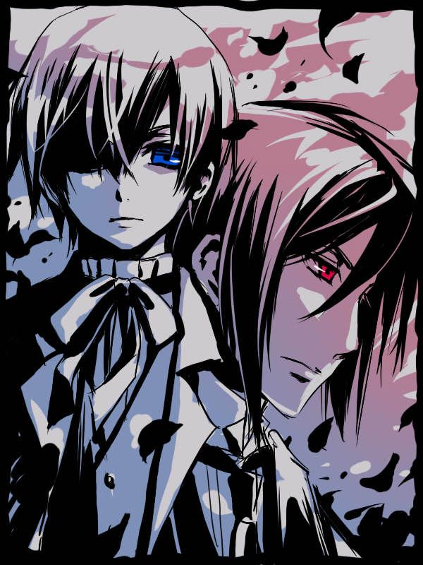 Ceil from Black Butler | anime, black butler, blue, ciel, drawing - inspiring picture on Favim ...