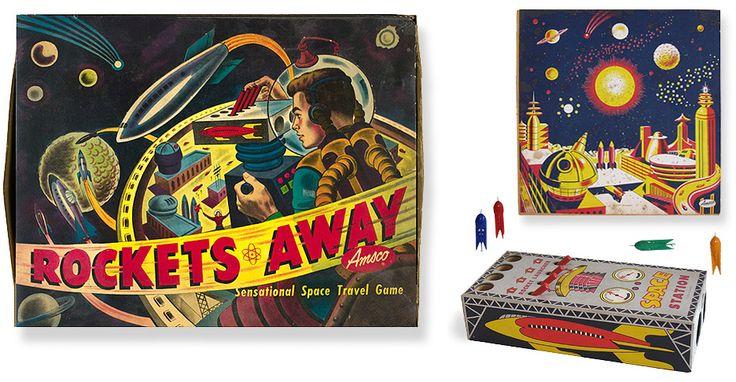 17 Best images about Vintage Game Boards on Pinterest ...