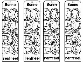 Le cahier de Pénélope: Signets pour la rentrée!