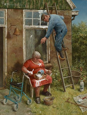 Do it yourselfer Marius van Dokkum