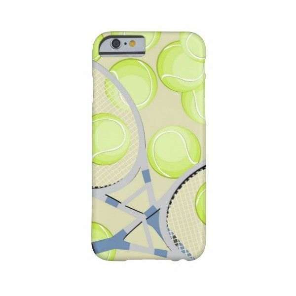 Tennis iPhone 6 case ($45) ❤ liked on Polyvore featuring accessories and tech accessories