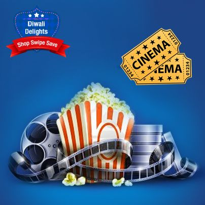 Planing for a movie this Diwali! #ShopSwipeSave with your HDFC Credit Card at BookMyShow.