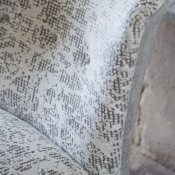 Add texture in white to create a subtle emphasis to a room ...