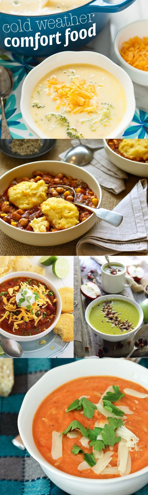 526 best soups stews chilis images on pinterest for Cold weather meals recipes