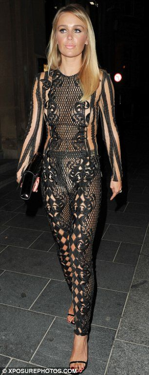 Fashion Faux Pas Alex Gerrard 31 Raunched It Up In A
