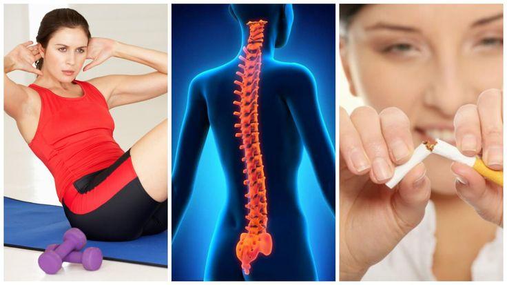 La adopción de algunos hábitos saludables es la mejor forma de proteger y cuidar la salud de la columna vertebral. Te damos 8 consejos.