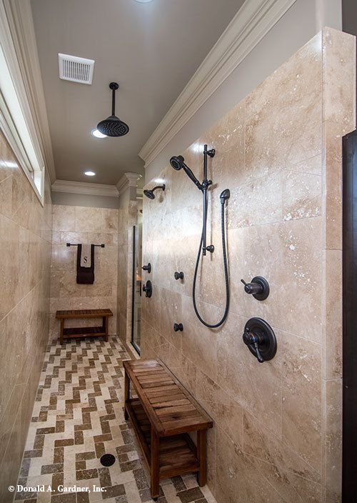 This Walk In Master Shower Is The Ultimate In Luxury