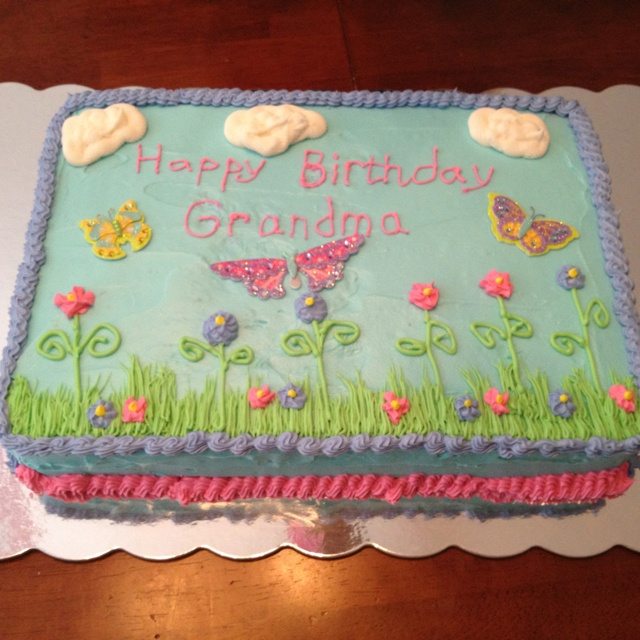 Cake Ideas For Grandmas Birthday Perfectend for