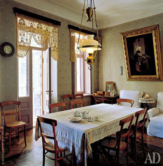 Дом Чехова в Ялте   Интерьеры в журнале AD   AD Magazine http://www.admagazine.ru/inter/57210_dom-chekhova-v-yalte.php
