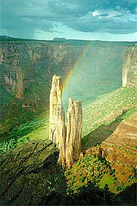 Spider Rock, Canyon de Chelly National Park, Arizona - Navajo Nation