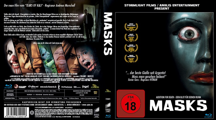 This is the german DVD Cover /advance version. Next cinema screenings:  Cologne, germany (su.11 Nov, 12:00 Cinedome), Torino, italy, 15th of november during the TOHORROR FILMFEST. I´m looking forward to be there!