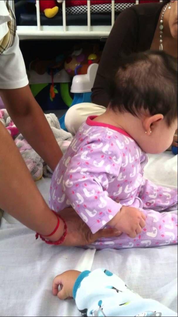 Ejercicios Bebe 4 meses