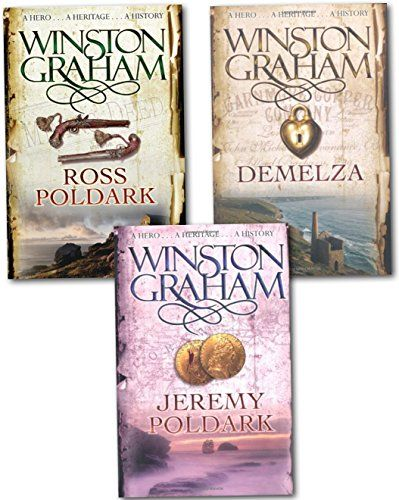 Winston Graham Polddark Collection 3 Books Set Ross Poldark, Demelza, Jeremy Poldark