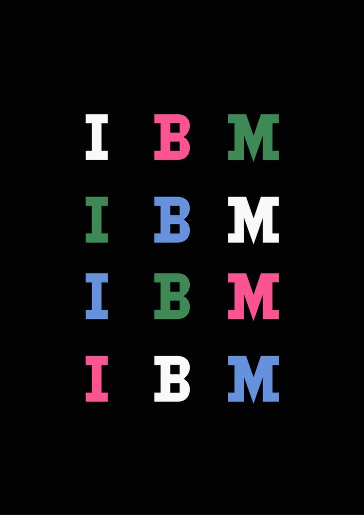 IBM Packaging design for carbon paper by Paul Rand.