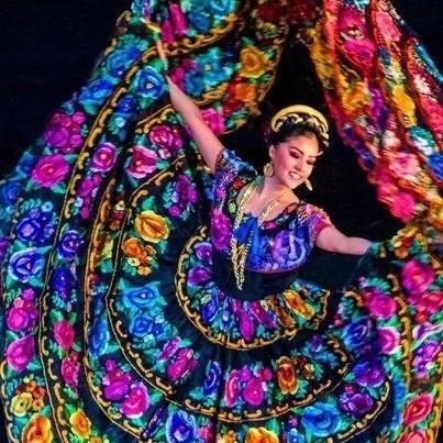 Traje tipico de Chiapas