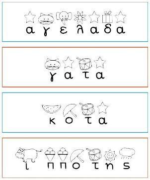 Γράφω-εκτυπώνω-μαθαίνω τις φωνές των γραμμάτων- Το logouergon.gr δημιούργησε μια γραμματοσειρά για να βοηθήσει τους φίλους του στη εκμάθηση των γραμμάτων και των φωνών τους. Η γραμματοσειρά είναι σχεδιασμένη έτσι ώστε πάνω από κάθε γράμμα κεφαλαίο ή πεζό να υπάρχει μια εικόνα. Η ονομασία της κάθε εικόνας ξεκινάει με το γράμμα που απεικονίζεται πχ στο α υπάρχει ένα αστέρι και στο υ ένα υποβρύχιο . Το παιδί βλέποντας το συνδυασμό γράμματος και εικόνας μαθαίνει να τα ταυτίζει και να λέει τη…