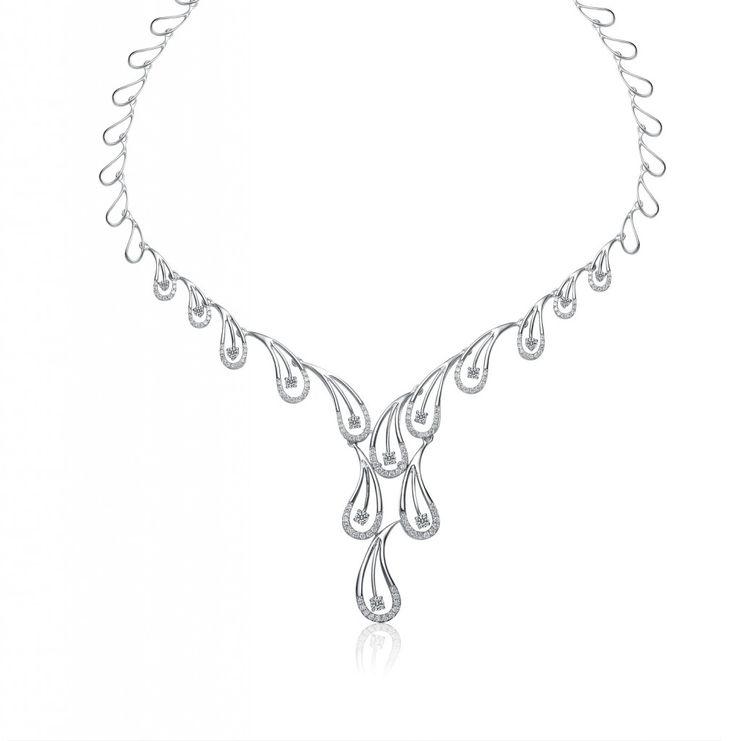 62 best Necklace images on Pinterest   Diamond necklaces, Women\'s ...