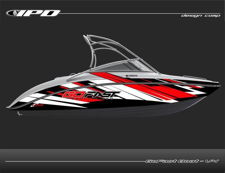 gofast boat wrap 2013 yamaha ar240 v4jpg - Boat Graphics Designs Ideas
