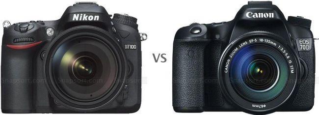 Compare cameras head to head
