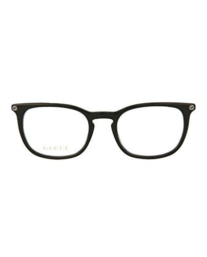6b0459caab31 Gucci frame (GG-0122-O 006) Acetate Shiny Black