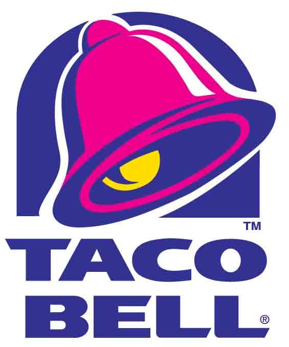 Taco Bell has an interesting color scheme for their logo. It uses cooler colors and then yellow for a pop. It's a shame it doesn't have a taco incorporated into the logo.