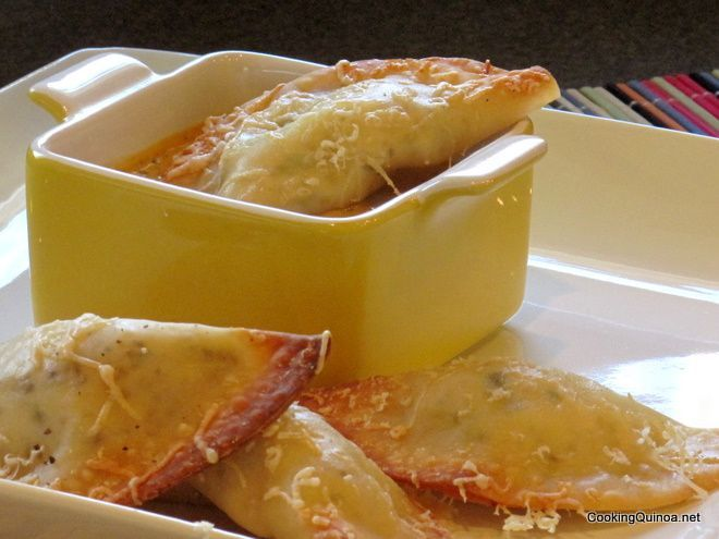 Clean Eating Goat Cheese Wontons. I have made these several times and they are FABULOUS! Wanted to share with those of you who enjoy goat cheese and quinoa.