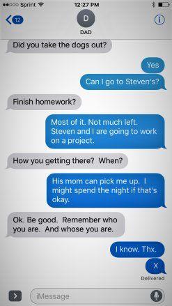 Dad's X Plan to Help Teens Escape Peer Pressure Situations | POPSUGAR Moms