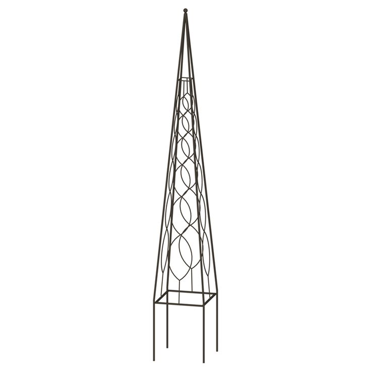 Find 180 x 24 x 24cm Steel Obelisk Trellis at Bunnings Warehouse. Visit your local store for the widest range of garden products.