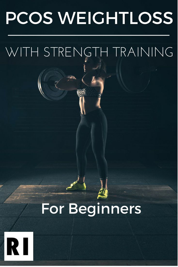 Learn how to achieve PCOS Weightloss with strength training. Strength training is the best form of exercise to combat PCOS weight gain due to the insulin sensitivity benefits of challenging your muscles. weight loss which can stabilize your hormones, restore your menstruation, mood, and reduce acne. Learn the basics of creating a strength training weight loss plan for PCOS and take back control of your body. pcos diet, pcos diet plan, pcos diet insulin resistance, pcos diet fertility, pcos…