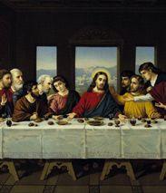 Egal ob katholische, protestantische, armenische, koptische oder griechisch-orthodoxe Christen: Sie alle feiern zu Ostern die Auferstehung Jesu Christi von den Toten, wenn auch mit verschiedenen Riten und zeitlich versetzt. Als Vorläufer von Ostern gilt das jüdische Passahfest, das an die Befreiung des Volkes Israel aus der ägyptischen Sklaverei erinnern soll und in dessen Tradition Jesus von Nazareth aufgewachsen ist. Das Abendmahl – die letzte Pessachfeier Jesu (Rechte: AKG)