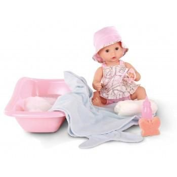 Gotz dolls are designed in germany. This lovely set includes doll and bath accessories.33cm#toys2learn#gotz#doll#33cm#bath#gil#accessories#australia#
