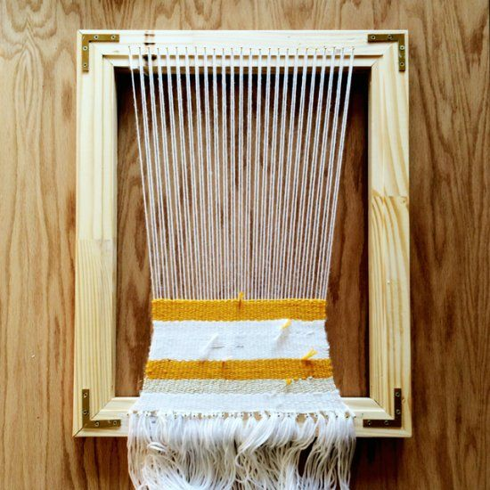 how to build a counterbalance loom