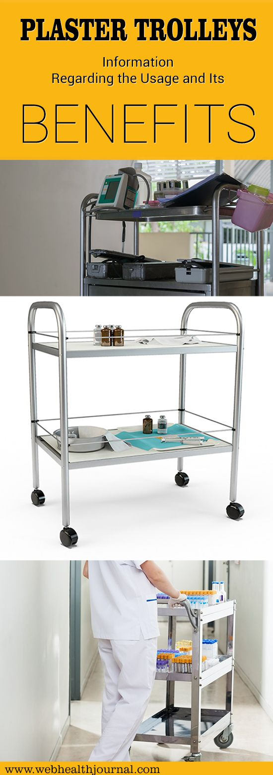 The concept of plaster trolleys is mainly used either by caterers while serving food or in hospitals to carry medical equipment. #tips #healthcareit #health #healthy #treatment #treat #medical #fit #fitness #life #lifestyle #style #hospitality #therapy