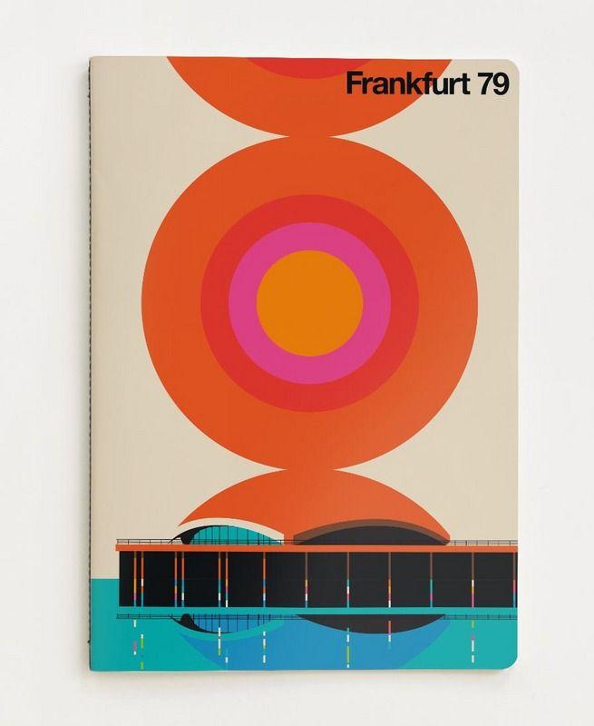 Frankfurt 79 as Notebook by Bo Lundberg | JUNIQE