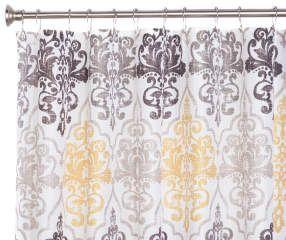 I found a Victoria Waffle Fabric Shower Curtain, (72