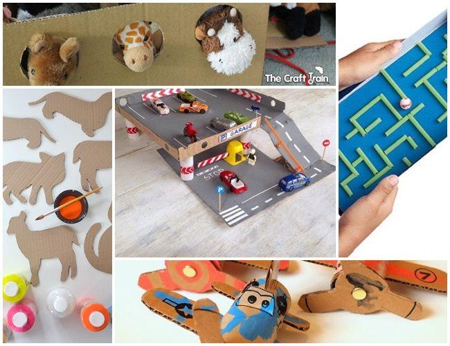 10 ideas about manualidades de carton on pinterest - Manualidades en carton ...