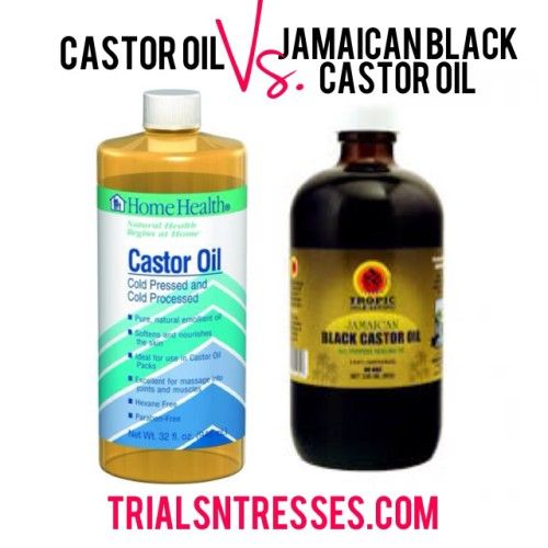 Castor Oil vs. Jamaican Black Castor Oil: What's The real difference?