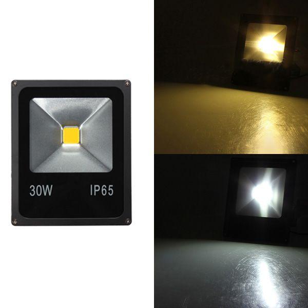30W White/Warm White IP65 LED Flood Light Wash Outdoor AC85-265V