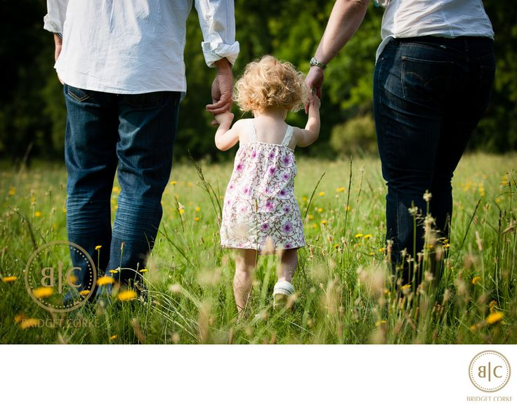Bridget Corke Photography - Outdoor Shoot with Toddler and Parents Photograph: