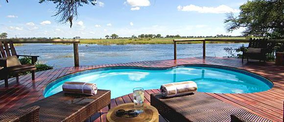 Kwando Lagoon Camp is a top choice for a family safari in Botswana's Linyanti Region