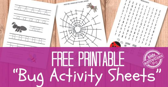 Let's have some learning fun with thesebugsactivity sheets! Printable activity sheets are always great as they are fun for the kids to solve and while solving themthey alsowork on important skills (writing, reading, comprehension…). BugsActivity Sheet Printables Kids are generally fascinated with bugs and to be honest I am quite a fan to although I …